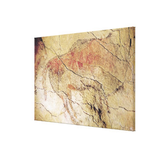 Bison from the Caves at Altamira, c.15000 BC Canvas Print