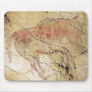 Bison from the Caves at Altamira, c.15000 BC Mouse Pad
