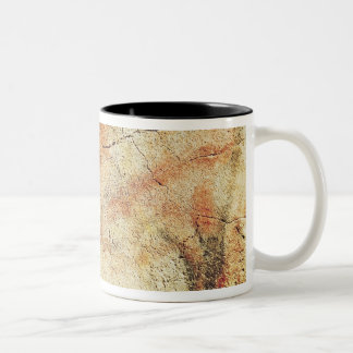 Bison, from the Caves at Altamira, c.15000 BC Two-Tone Coffee Mug