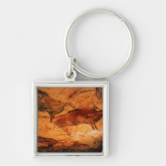 Bison from the Caves at Altimira, c.15000 BC Keychain
