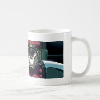 Bison Glowing Hand Coffee Mug