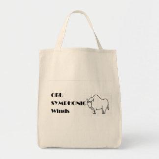 Bison Grocery Bag