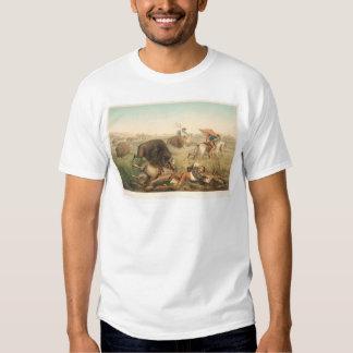Bison Hunt (0008A) T Shirt
