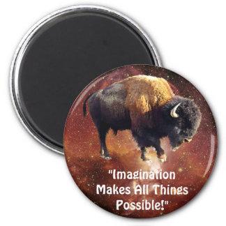 Bison Imagination Possibilities Motivation Magnet