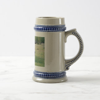 Bison in Yellowstone Beer Stein