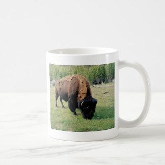 Bison in Yellowstone Coffee Mug