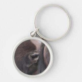 bison keychain