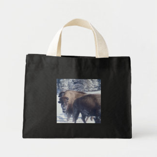 Bison Mini Tote Bag