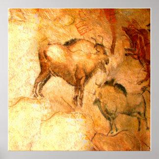 Bison of Altamira Poster
