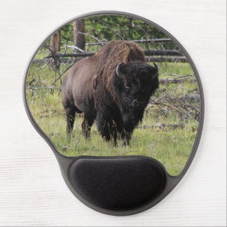 Bison of Yellowstone Photo Gel Mouse Pad