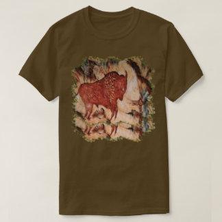 Bison Petroglyph Unisex Dark T-shirt