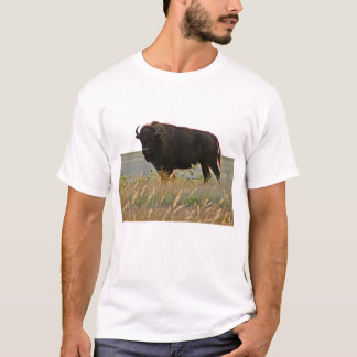 Bison Photo Sculpture T-Shirt