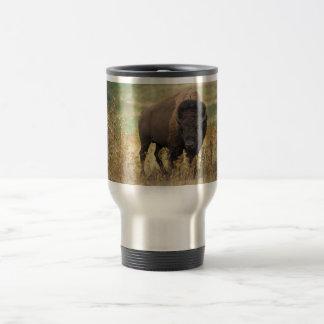 Bison photo travel mug