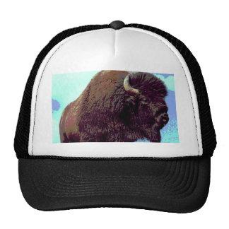 Bison Pop Art Trucker Hat