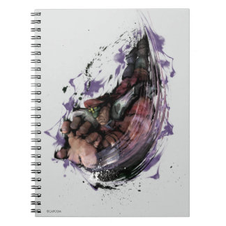 Bison Psycho Crusher Spiral Notebook