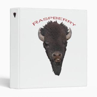 Bison Raspberry Binders