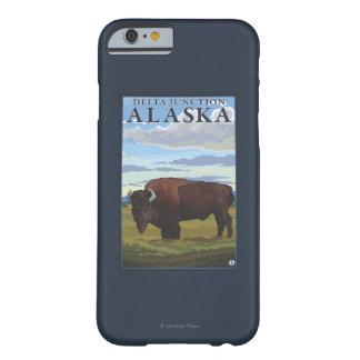Bison Scene - Delta Junction, Alaska Barely There iPhone 6 Case
