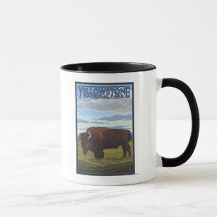 Yellowstone Bison Mugs No Minimum Quantity Zazzle
