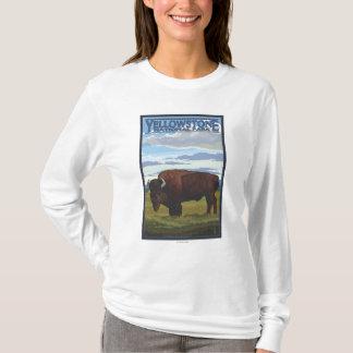 Bison Scene - Yellowstone National Park T-Shirt
