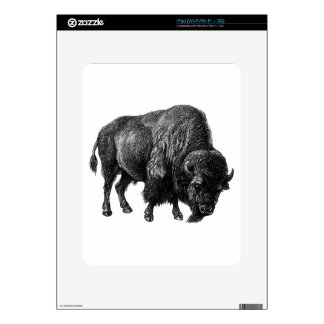 Bison iPad Decal