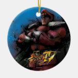 Bison Standing Christmas Ornament