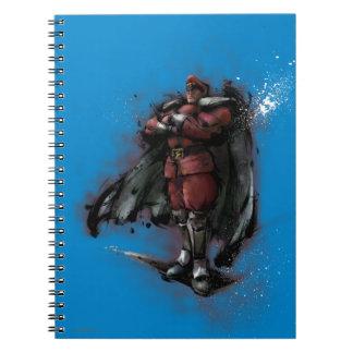 Bison Standing Notebook