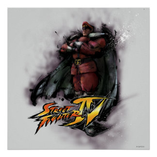 Bison Standing Poster