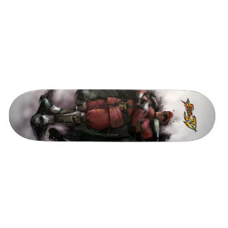 Bison Standing Skateboard Deck
