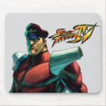 Bison Stare Mouse Pads