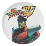 Bison Stare Party Plate