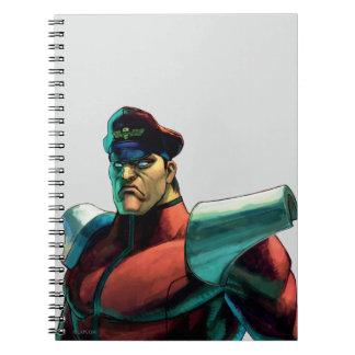 Bison Stare Spiral Notebook