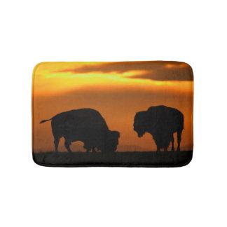 Bison Sunset Bath Mat