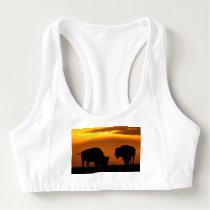 Bison Sunset Sports Bra