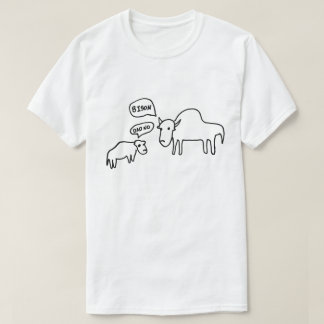 Bison T-Shirt Light