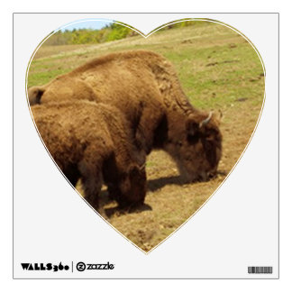 BISON WALL DECAL-MOTHER AND CHILD WALL DECAL