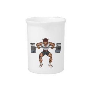 bison weight lifter beverage pitchers