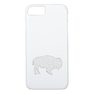 Bison Winter Art iPhone 8/7 Case
