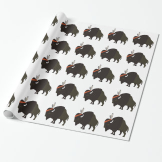 Bison Wrapping Paper