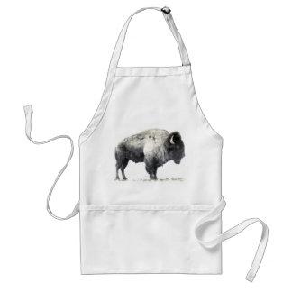Bisonte americano delantales