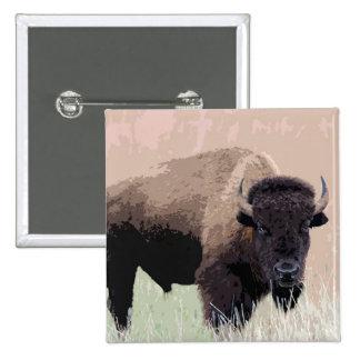 Bisonte/búfalo Pin