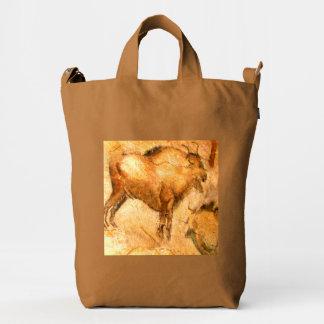 Bisonte de Altamira Bolsa De Lona Duck