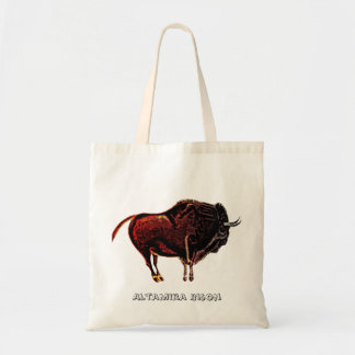 Bisonte de Altamira Bolsa Tela Barata
