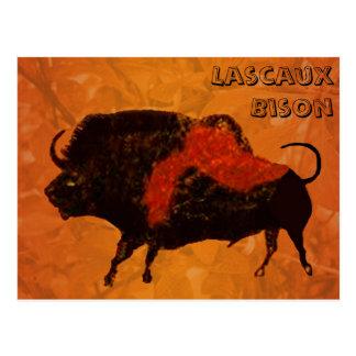 Bisonte de Lascaux Postales