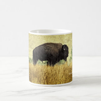 Bisonte de Montana Taza Clásica