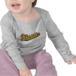 Bisonte en oro camiseta