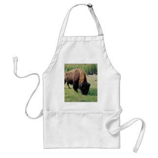 Bisonte en Yellowstone Delantales