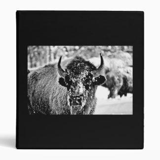 "Bisonte escarchado de Yellowstone Carpeta 1"""