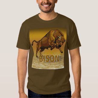 bisonte europeo camisas