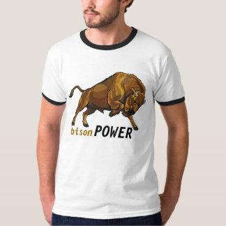 bisonte europeo remeras
