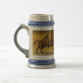 bisonte europeo taza